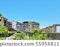 Nagasaki prefecture blue sky warship island 55056811