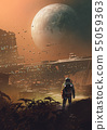 a new colony on the moon 55059363