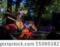 야 부사 메 질주하는 말을 타고 활을 쏘는 55060382