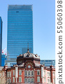 东京站摩天大楼和东京站车站大楼 55060398