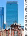东京站摩天大楼和东京站车站大楼 55060399