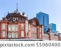东京站摩天大楼和东京站车站大楼 55060400