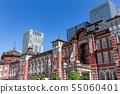 东京站摩天大楼和东京站车站大楼 55060401