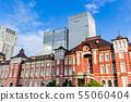 东京站摩天大楼和东京站车站大楼 55060404