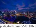 싱가포르의 야경 55061063