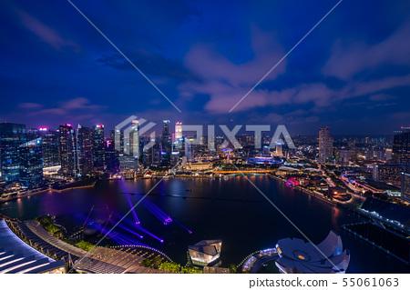 新加坡夜視圖 55061063