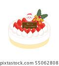 聖誕蛋糕 55062808