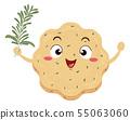 Mascot Rosemary Shortbread Illustration 55063060
