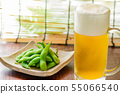 Beer and Edamame 55066540