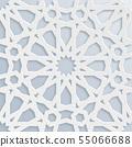 Vector muslim mosaic, persian motif. Mosque 55066688