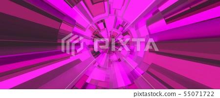 Pink digital background. 3D illustration. 55071722