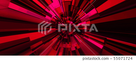The Red digital abstract background.  55071724