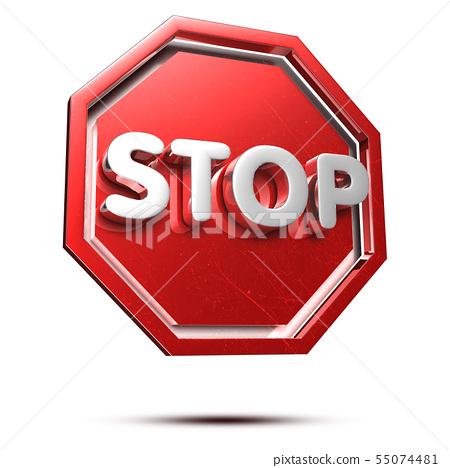 Stop 3d. 55074481