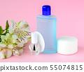Colorless nail polish, nail varnish remover, pads 55074815