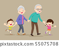 grandparents with kids are walker 55075708