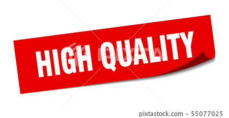 high quality sticker. high quality square isolated 55077025