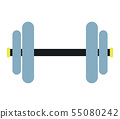 weight gym icon 55080242