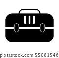 pet dog travel icon 55081546