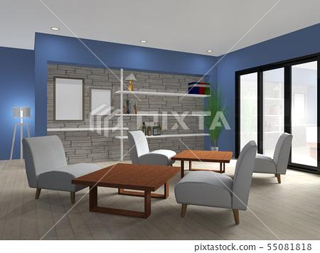 Interior of cafe-01 55081818