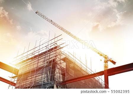 일러스트,건설,건축 55082395