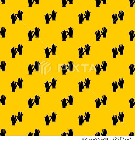 Medical gloves pattern vector 55087317