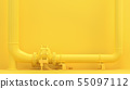 Yellow pipeline 55097112