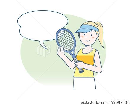 你想開始打網球嗎? 55098136