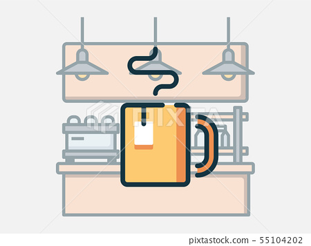 Hot tea. 55104202