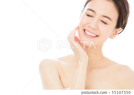 美容女性護膚美容年輕女性美容 55107350