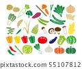 蔬菜圖標集 55107812