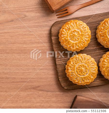 中秋節月餅蓋貝 55112306