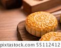 中秋節 月餅 傳統 節日 Mid-Autumn Festival Moon cake げっぺい 55112412