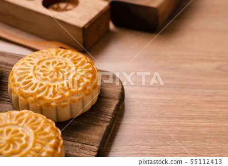 中秋節月餅蓋貝 55112413