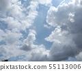 蓝天和夏天Inage海滩公园白色云彩 55113006
