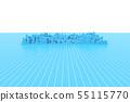 城市规划,网格上方的城市形象 55115770