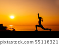 Healthy and exercise activity. Lifestyle and sport 55116321