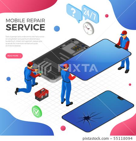 Smartphone Repair Service 55118094