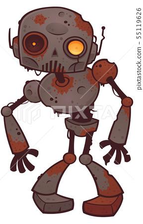 Rusty Zombie Robot 55119626