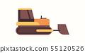 heavy excavator yellow crawler loader machine coal mine production professional equipment mining 55120526