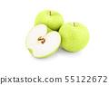 Green apples 55122672