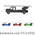 fire truck icon 55123592