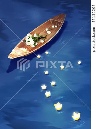 illustration of the Memorial Day of Korea 009 55132205