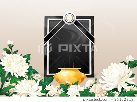 illustration of the Memorial Day of Korea 005 55132218
