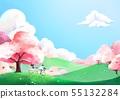 櫻花 家庭 家族 55132284