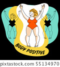 body positive template 55134970
