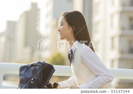 schoolgirl 55137344