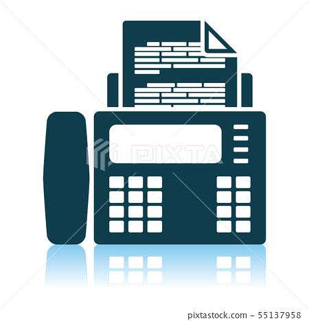 Fax Icon Stock Illustration 55137958 Pixta 100+ vectors, stock photos & psd files. pixta
