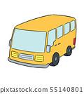 vector of minivan 55140801