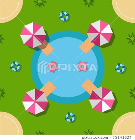 Pattern design for summer season. 55141624
