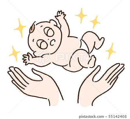 아기 탄생 55142408